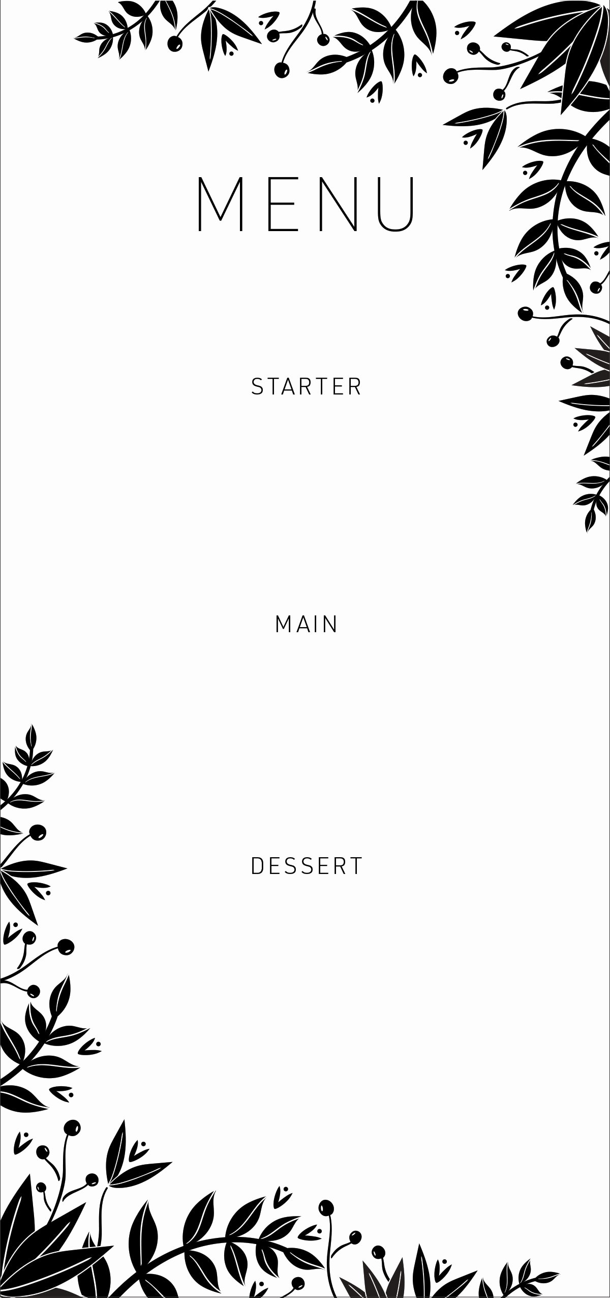 Dinner Party Menu Template Awesome 20 Dinner Party Ideas Free Customizable Menus