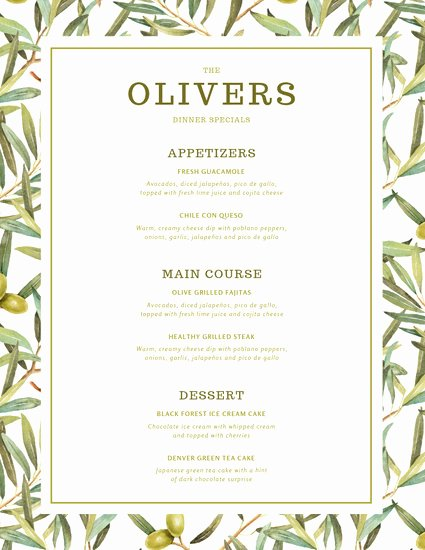 Dinner Party Menu Template Beautiful Customize 197 Dinner Party Menu Templates Online Canva