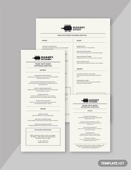 Dinner Party Menu Template Beautiful Free 25 Dinner Party Menus In Illustrator