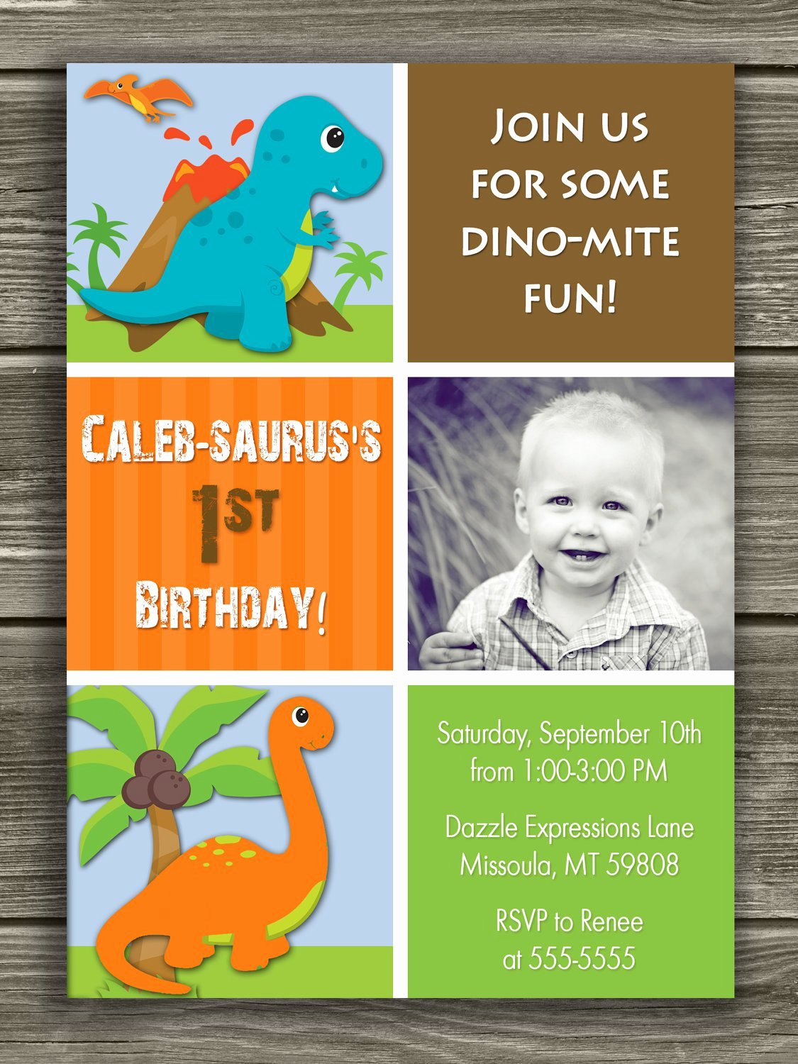 Dinosaur 1st Birthday Invitations Best Of Dinosaur 1st Birthday Invitations
