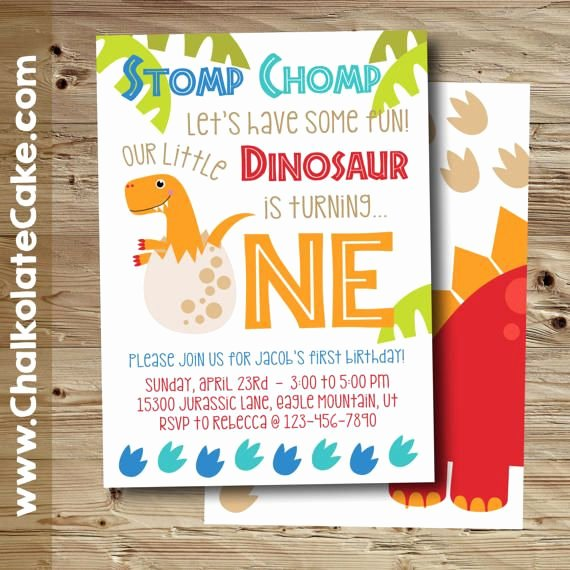 Dinosaur 1st Birthday Invitations Best Of the 25 Best Dinosaur First Birthday Ideas On Pinterest