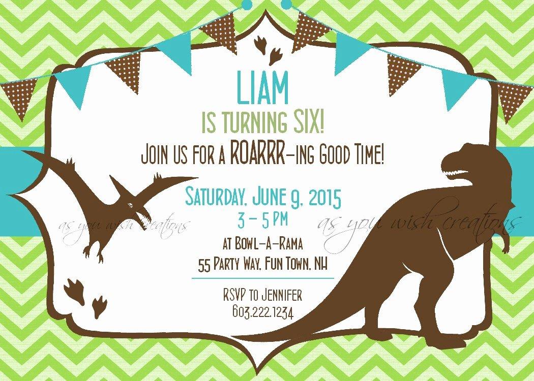 Dinosaur 1st Birthday Invitations Inspirational Dinosaur Birthday Invitation First Birthday Dinosaur Party