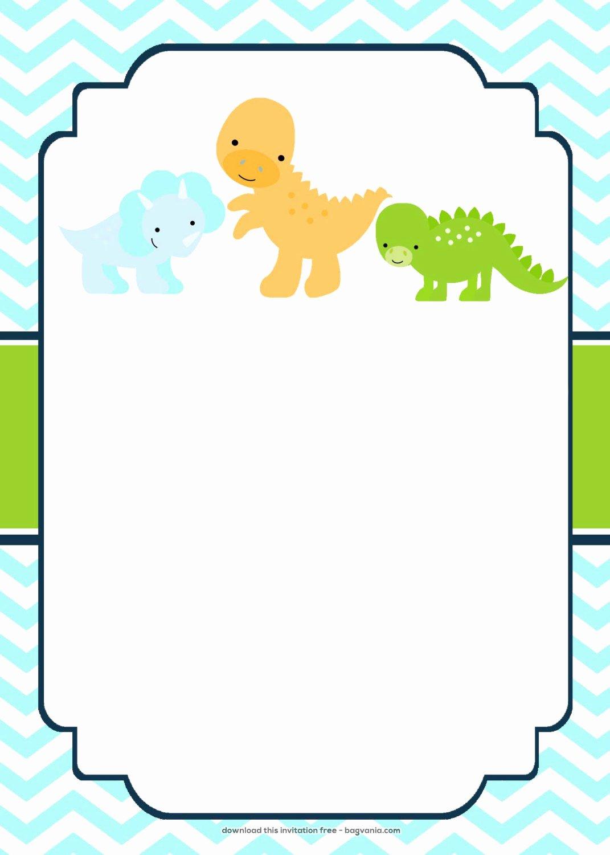 Dinosaur Birthday Invitation Template Inspirational Free Dinosaur Birthday Invitations – Free Printable Birthday Invitation Templates – Bagvania
