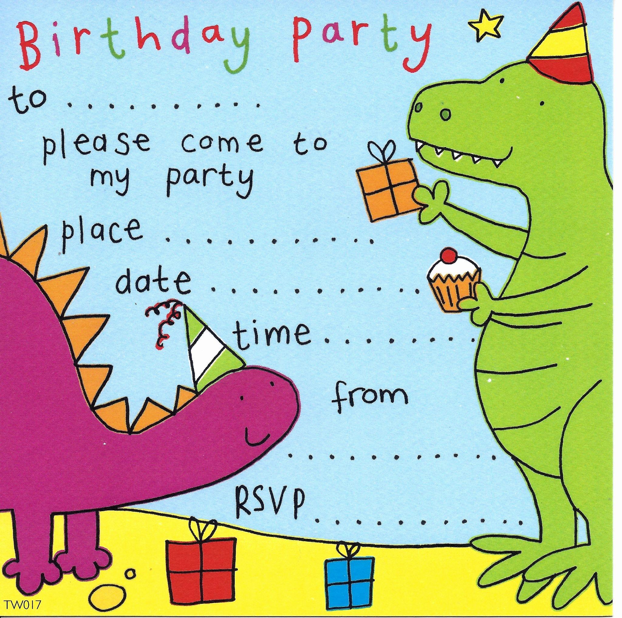 Dinosaur Birthday Party Invitations Best Of Party Invitations Birthday Party Invitations Kids Party Invitations Children S Party Invites