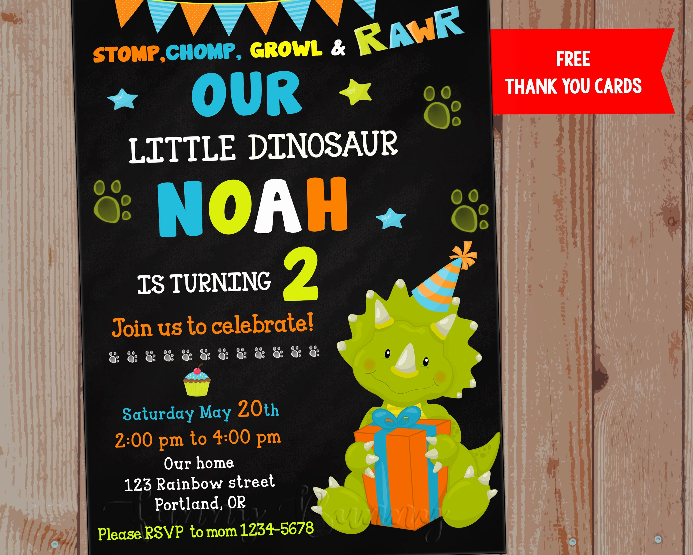 Dinosaur First Birthday Invitations Fresh Dinosaur Invitation Dinosaur Birthday Invitation 1st First