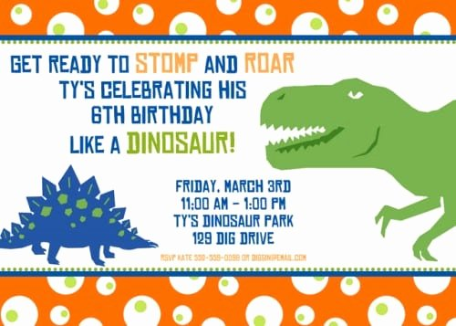 Dinosaur Invitations Free Printable Awesome Free Printable Dinosaur Birthday Invitation