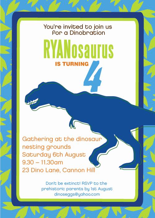Dinosaur Invitations Free Printable Elegant Printable Dinosaur Invitations