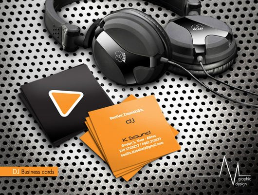 Disc Jockey Business Card Best Of Best Business Card Designs for Dj's Career Dzinepress
