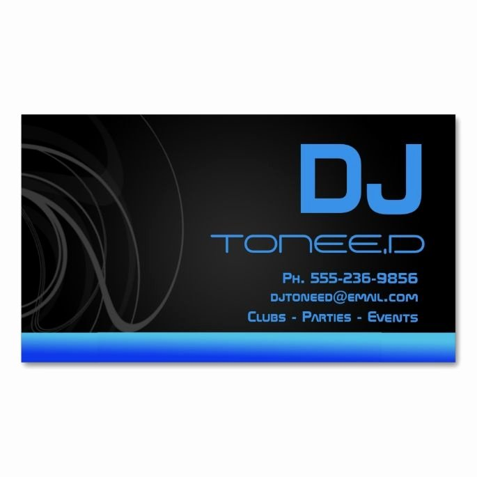 Disc Jockey Business Card New 2151 Best Dj Business Cards Images On Pinterest