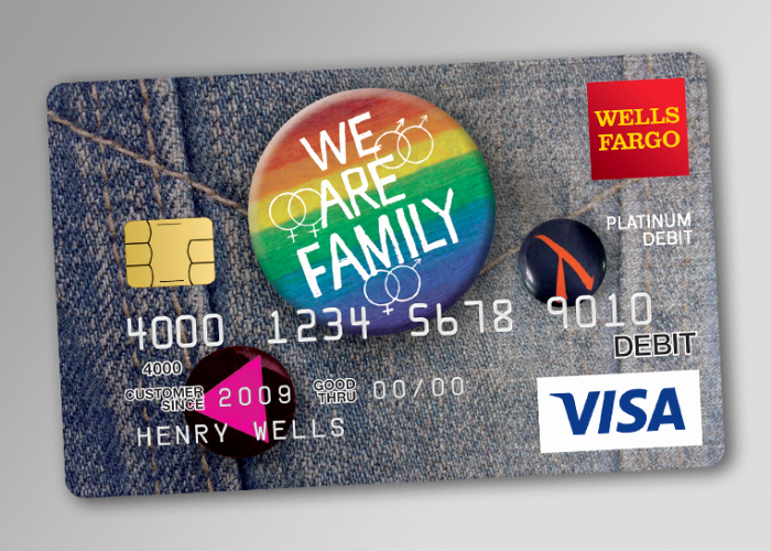 Discover Card Design Options Fresh Wells Fargo Lgbt Debit Card Urso Chappell Creative
