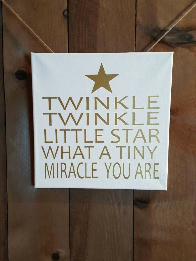 Discover Card Design Options Inspirational Twinkle Twinkle Little Star Sign Nursery 2 Design Options