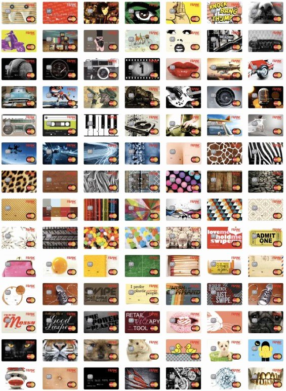 Discover Credit Card Designs Awesome Meet Frank Maybe the Coolest Bank Gen Y Has Ever Seen