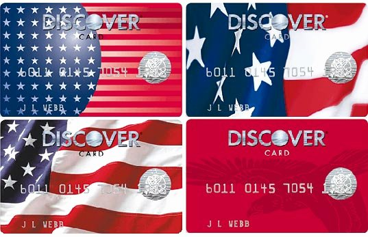 Discover Credit Card Designs Beautiful Credit Card Graphics Parison A Very Patriotic Credit Card Blog Update