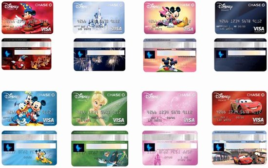 Discover Credit Card Designs New New Disney's Premier Visa Card Launches with 8 Exclusive Designs