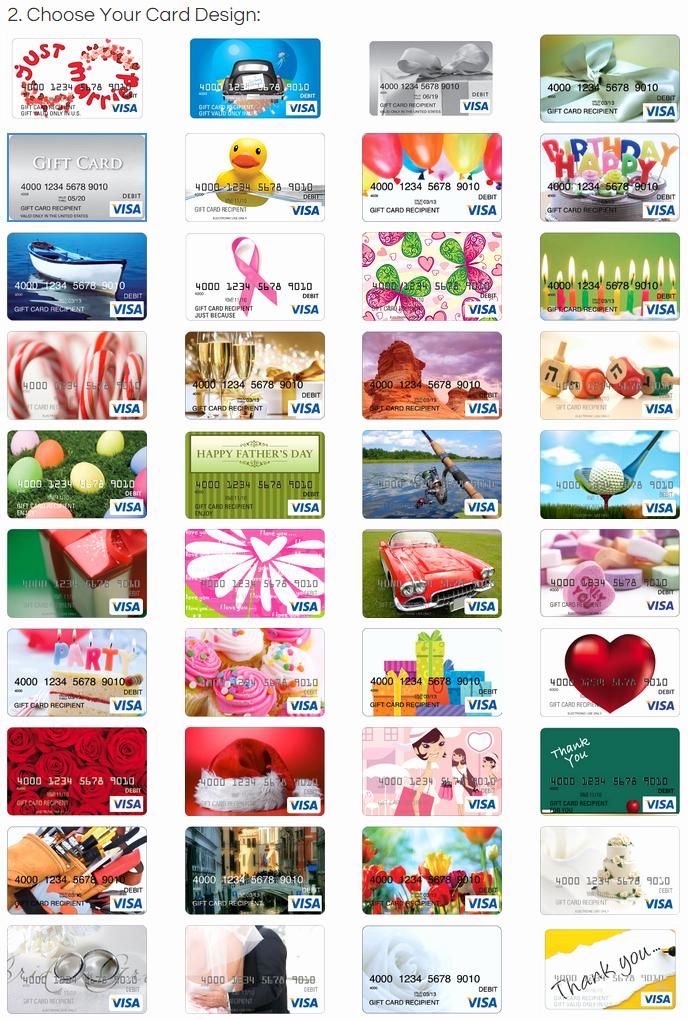 Discover Credit Card Designs Unique All Visa Gift Card Designs