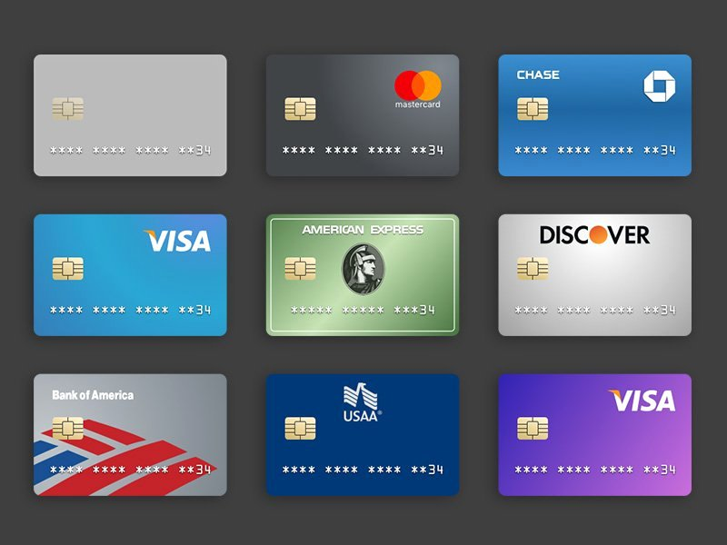 Discover It Card Designs Best Of Free Sketchapp Credit Card Templates Sketchblast