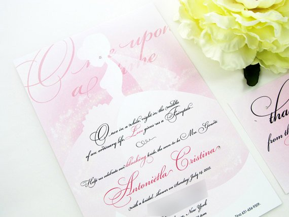 Disney Bridal Shower Invitations Inspirational Princess Bridal Shower Invitation Disney Bridal Shower