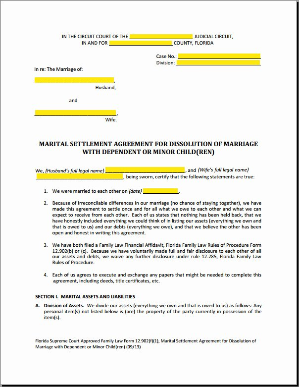 Divorce Settlement Agreement Pdf Best Of Marital Settlement Agreement Template Georgia Templates Resume Examples 1rymggbakq