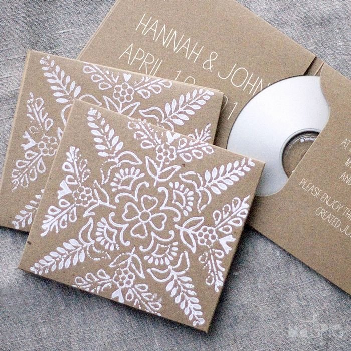 Diy Cd Sleeve Template Elegant Lovely Diy Cd Cover Packaging & Wrapping Pinterest