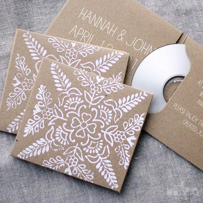 Diy Cd Sleeve Template Elegant Lovely Diy Cd Cover Packaging & Wrapping Pinterest
