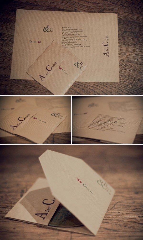 Diy Cd Sleeve Template Fresh Diy Wedding Ideas Cd Favor & Place Seating Card