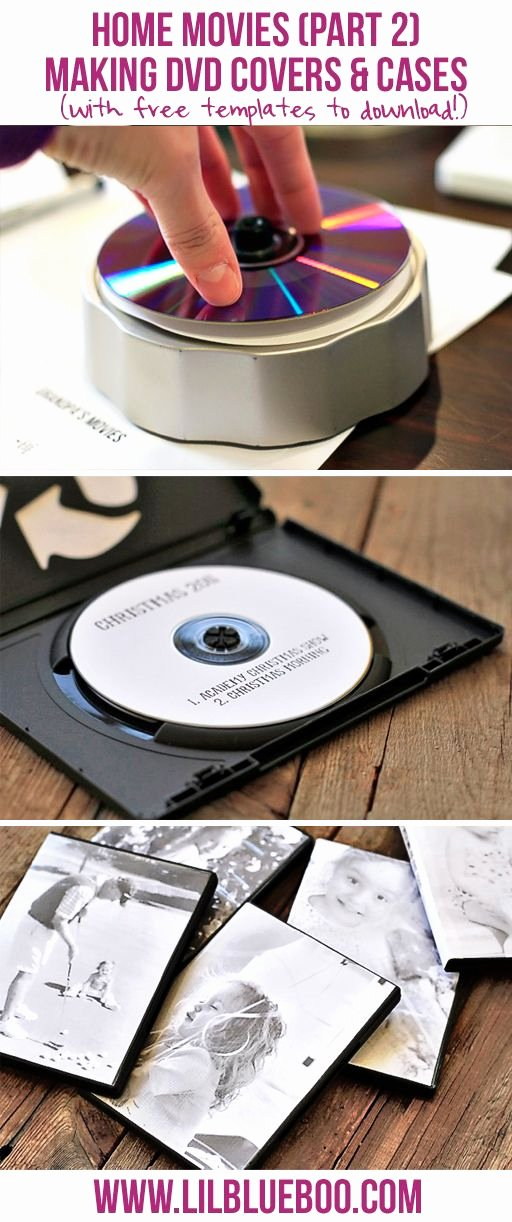 Diy Cd Sleeve Template New How to Make Simple Dvd Labels and Case Covers with Free Templates Diy