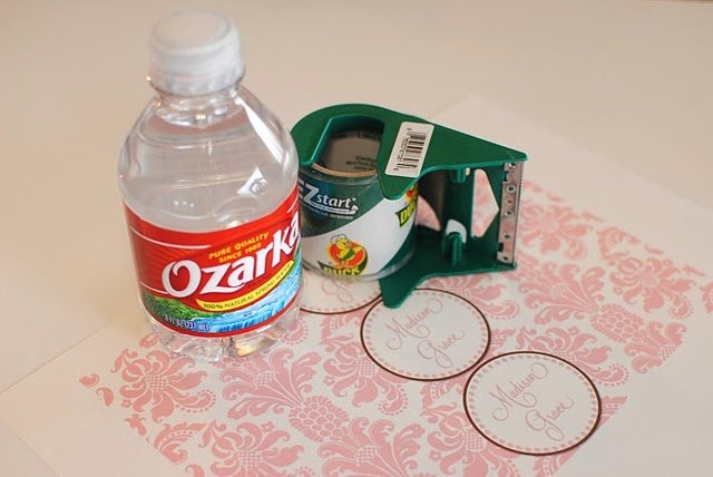 Diy Water Bottle Label Template Best Of Diy Water Bottle Labels Crafts Pinterest