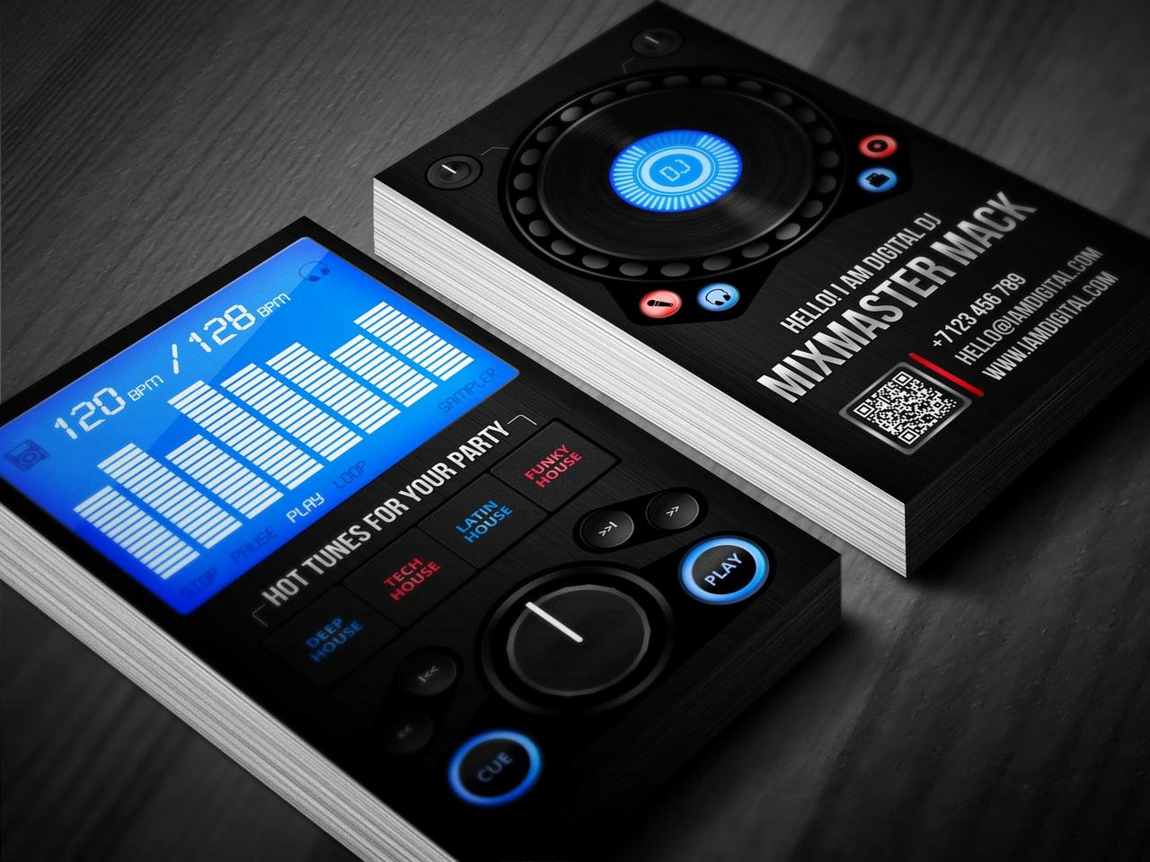 Dj Business Card Template Luxury Digital Dj Business Card by Iamvinyljunkie On Deviantart