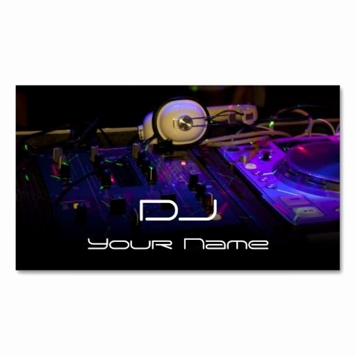 Dj Business Cards Samples Luxury 307 Best Dj Business Cards Images On Pinterest