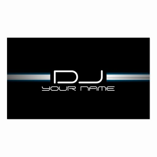 Dj Business Cards Templates Free Fresh Dj Business Card Templates