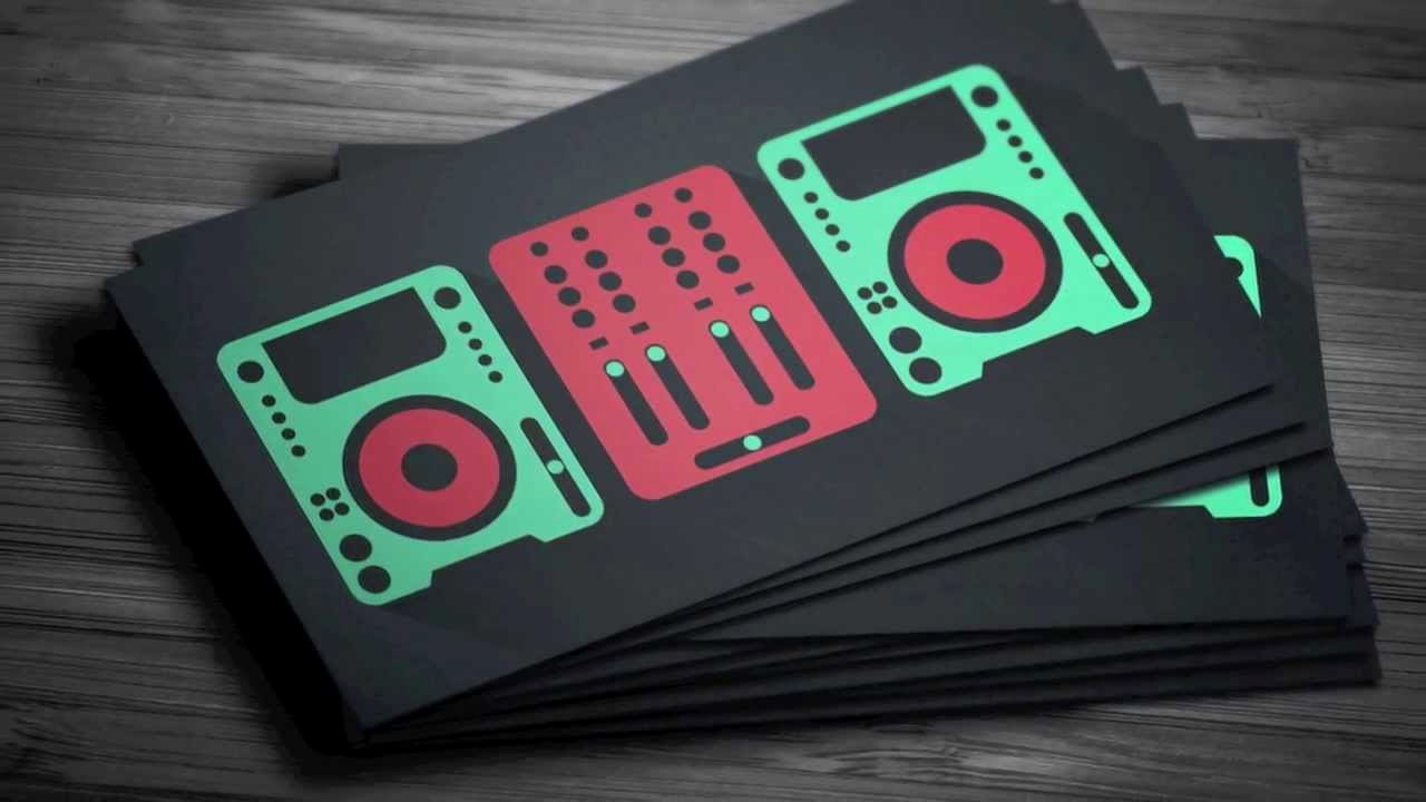 Dj Business Cards Templates Free Fresh Graphicriver Digital Trends Flat Dj Business Card Template