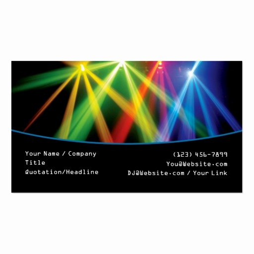 Dj Business Cards Templates Free New Premium Dj Business Card Templates