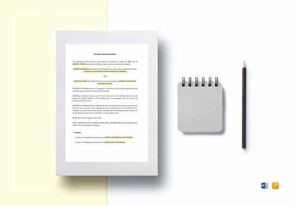 Dj Contract Template Microsoft Word Unique 16 Dj Contract Templates Pdf Word Google Docs Apple Pages