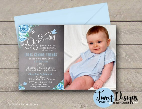 Do It Yourself Baptism Invitation New Printable Invitations Christening Announcements Custom
