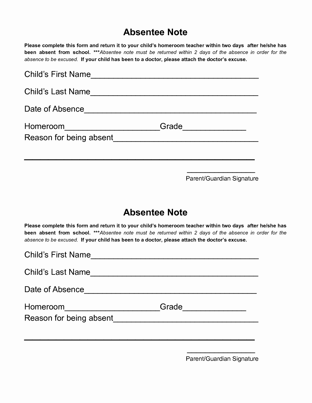 Doctor Note for School Absence Inspirational Doctors Excuse Template