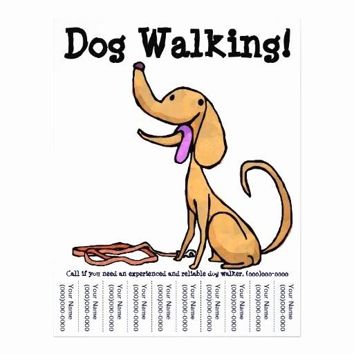 Dog Walking Flyer Template Elegant Dog Walking Flyers Google Search Dog Walking Pinterest