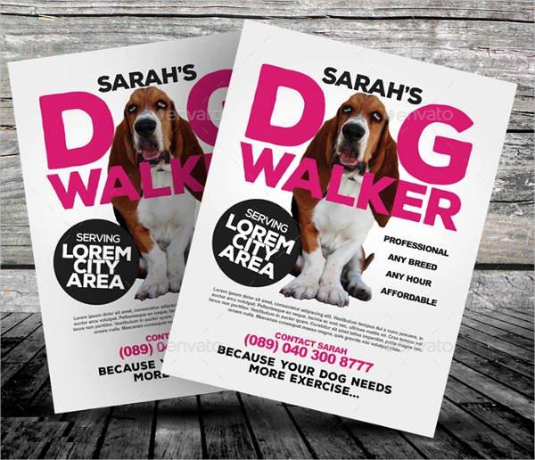 Dog Walking Flyer Templates Free Lovely 15 Dog Walking Flyer Templates Psd Vector Eps Ai format Download
