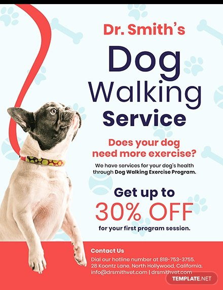 Dog Walking Flyer Templates Free Unique Free Home Cleaning Service Flyer Template Download 640 Flyers In Psd Illustrator Word