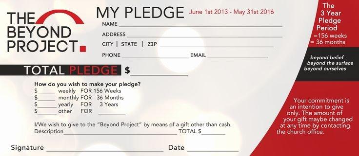 Donation Envelope Template Word Elegant Church Pledge form Template Hausn3uc Capital Campaign