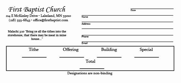 Donation Envelope Template Word Lovely Design Your Own Offering Envelopes Free Templates Kjv