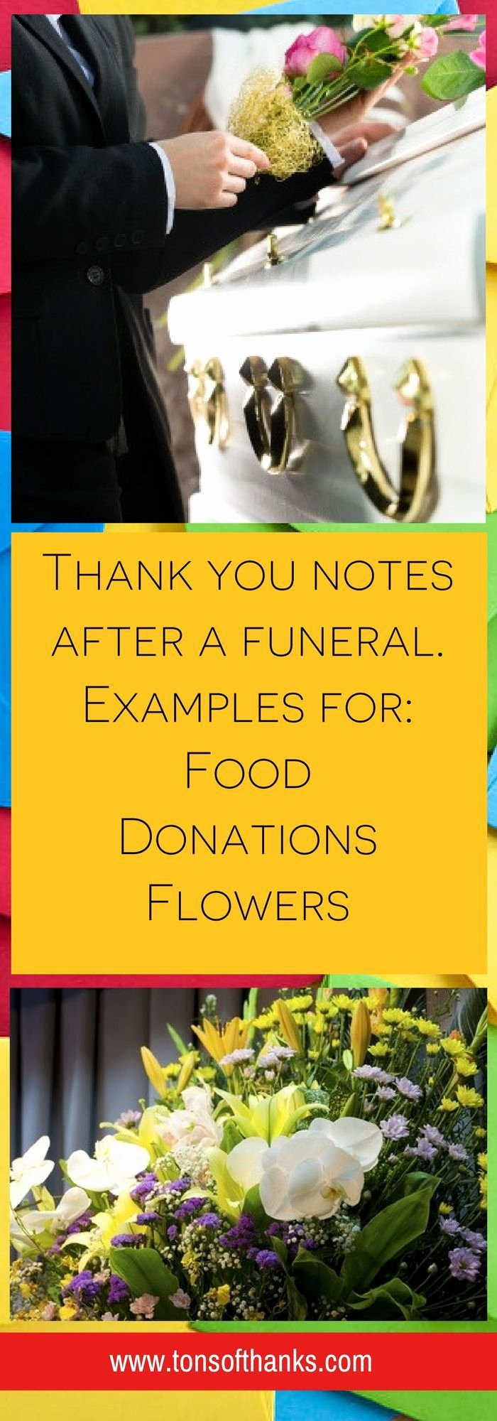 Donation for Funeral Wording Sample Beautiful 43 Funeral Thank You Note Wording Examples Correspondence