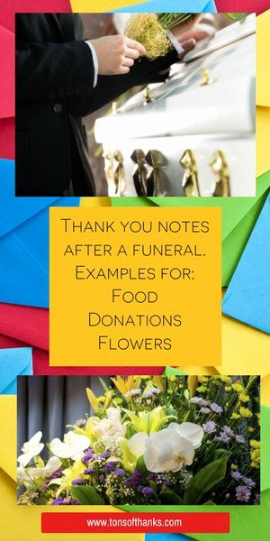 Donation for Funeral Wording Sample Lovely 43 Funeral Thank You Note Wording Examples