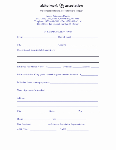Donation form Template Word Best Of 36 Free Donation form Templates In Word Excel Pdf