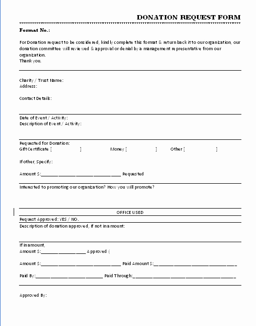 Donation form Template Word Fresh 36 Free Donation form Templates In Word Excel Pdf