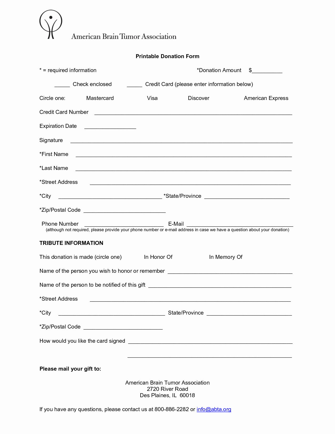 Donation form Template Word Inspirational 6 Free Donation form Templates Excel Pdf formats