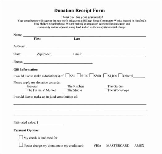 Donation form Template Word Unique 36 Free Donation form Templates In Word Excel Pdf