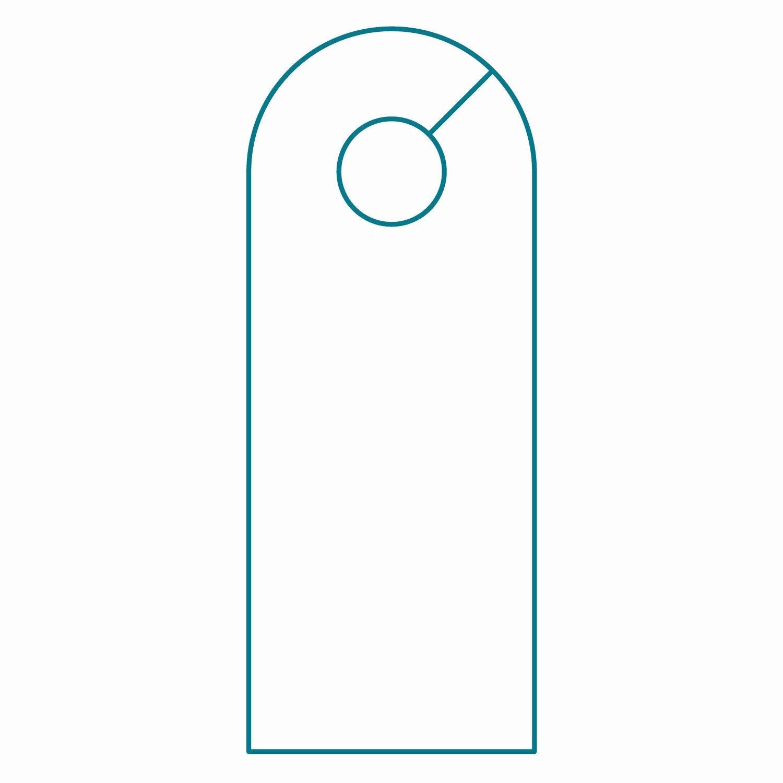 Door Hanger Template Microsoft Word Best Of Door Hanger Template