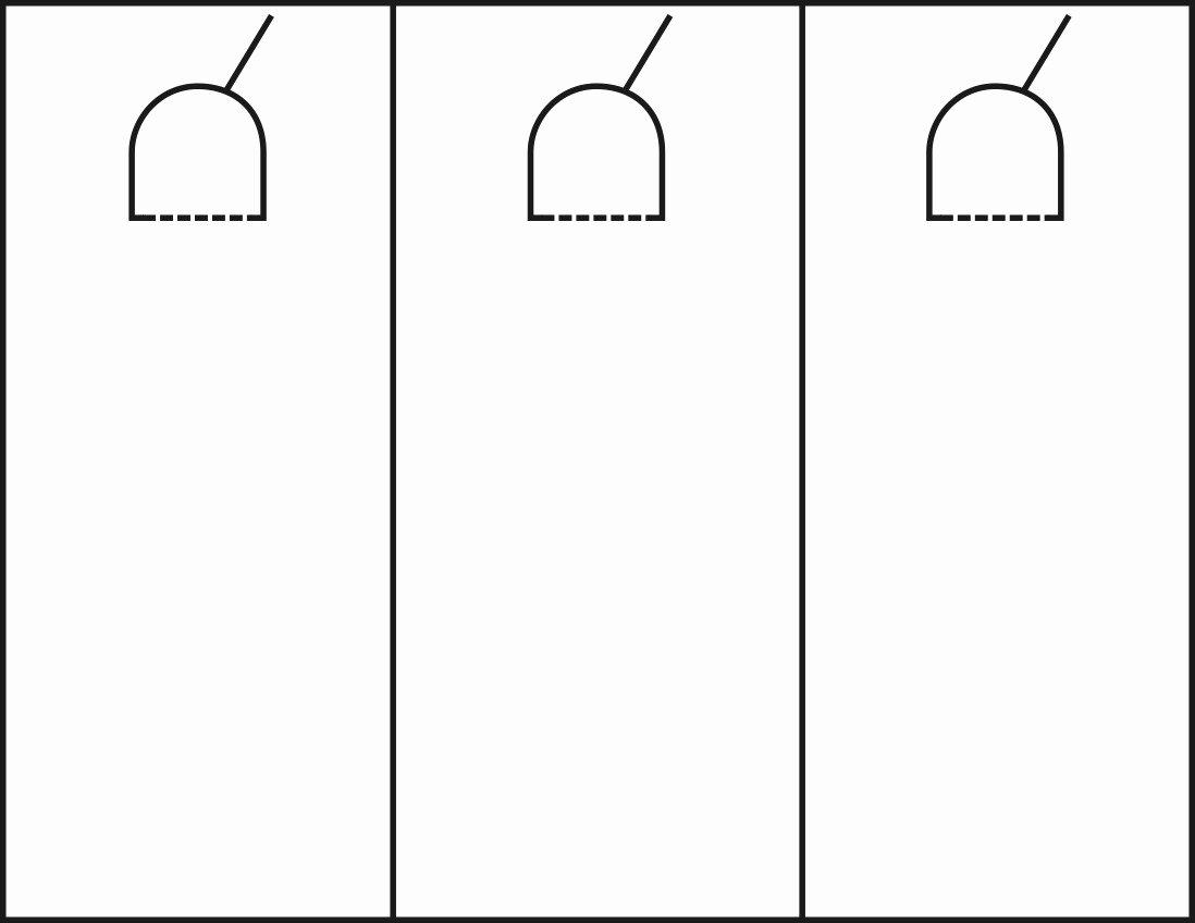 Door Hanger Template Microsoft Word Unique Door Hanger Template