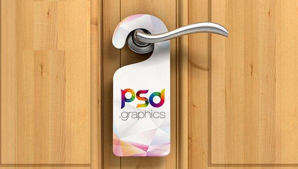 Door Hanger Template Psd Inspirational 19 Best Door Hanger Mockup Templates Psd Indesign Ai Jpg format
