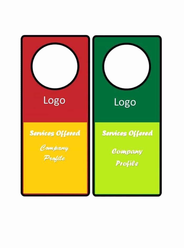 Door Hanger Templates for Word Best Of 43 Free Door Hanger Templates Word Pdf Template Lab